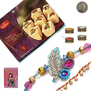 Famous Soan Papdi n Mauli Rakhi Gifts to Brother 201