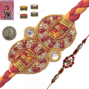 Buy Indian Traditional Mauli Rakhi for Brother 106