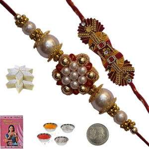 Send Exclusive Precious Rakhi Gift to Brother 114