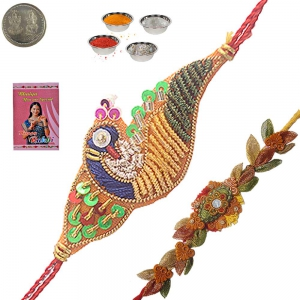 Send Raksha Bandhan Traditional Rakhi for Brother 101