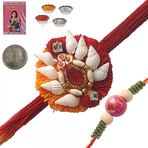 Send Indian Adorable Rakhi Gifts for Brother 112