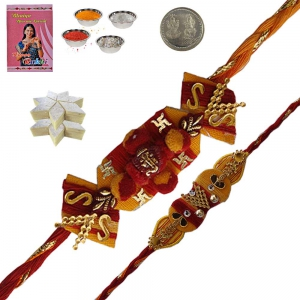 Send Exclusive Rakhi n 200Gm Kaju Katli Mithai 137