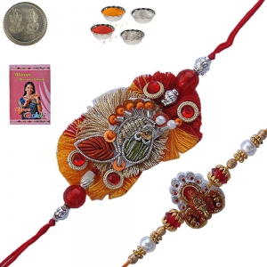 Send to Brother Exclusive Gorgeous Rakhi Gifts 148