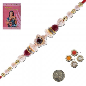 Handcrafted Work Special Rakhi Gift For Brother 304