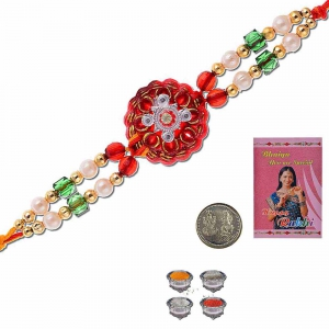 Exclusive Designer Trendy Rakhi Gift For Brother 309