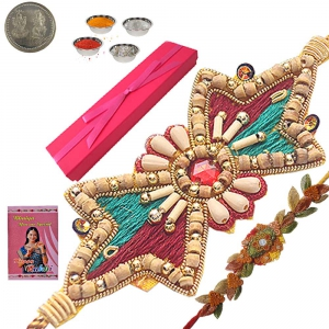 Send Rakhee India Precious Sandalwood Gift Box 101