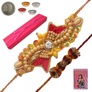 Celebrate Rakhi Festival with Chandan Rakhi Gift 119