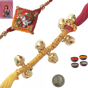 Online Indian Beautiful Thread Rakhi to Brother 109