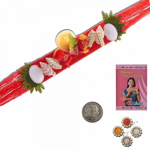 Jaipuri Designer Stylish Trendy Thread Rakhi Gift 304