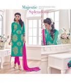 Shoponbit Cool Frozey Rama Color Straight Cut Salwar Suit SHMY-19