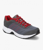 Adidas Ryzo Grey Red Running Shoes