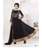 Shoponbit Black Color Golden Embroidered Work Anarkali Suit SHYK-01