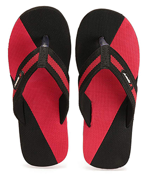 Sparx SFG-14 Red Black Slipper  SFG-14-RED-BLK