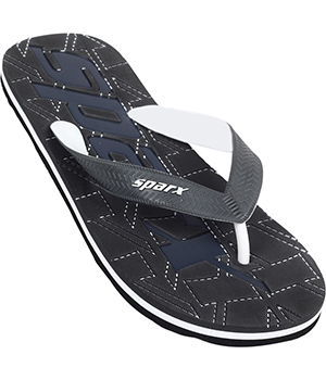 Sparx SFG-2025 Black Slipper  SFG-2025-BLK