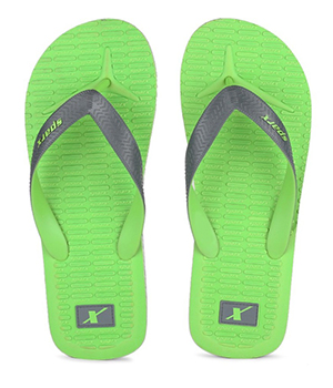 Sparx SFG-2029 Green Grey Slipper  SFG-2029-FGRN-GRY