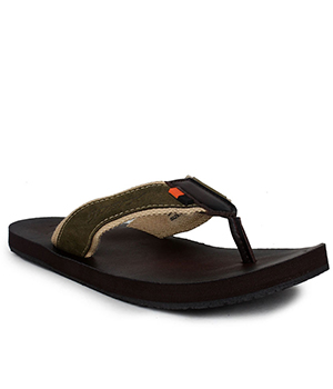 Sparx SFG-2031 Brown Olive Slipper  SFG-2031-BRW-OLI