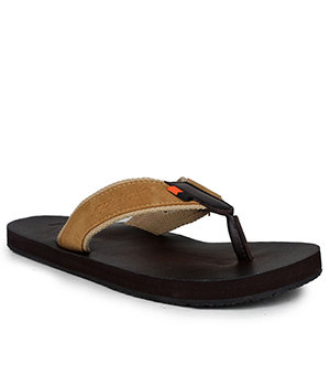 Sparx SFG-2031 Brown Tan Slipper  SFG-2031-BRW-TAN