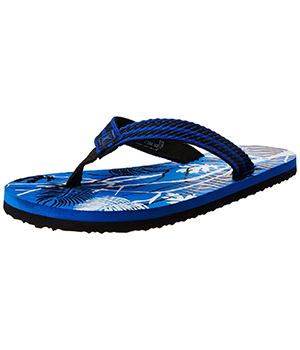 Sparx SFG-28 Blue Black Slipper  SFG-28-BLU-BLK