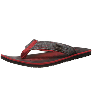 Sparx SFG-37 Red Black Slipper  SFG-37-RED-BLK