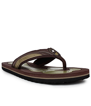 Sparx SFG-40 Brown Olive Slipper  SFG-40-BRW-OLI