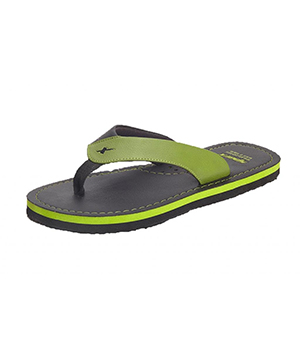 Sparx SFG-523 Green Black Slipper  SFG-523-GRN-BLK