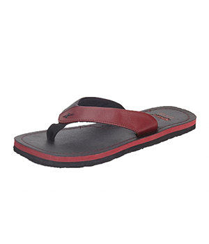 Sparx SFG-523 Red Black Slipper  SFG-523-RED-BLK