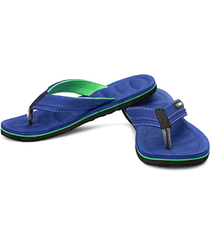 Sparx SFG-526 Blue Green Slipper  SFG-526-BLU-GRN