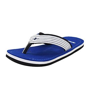 Sparx SFG-529 Blue White Slipper  SFG-529-BLU-WHT