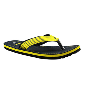 Sparx SFG-529 Navy Yellow Slipper  SFG-529-NVY-YLW