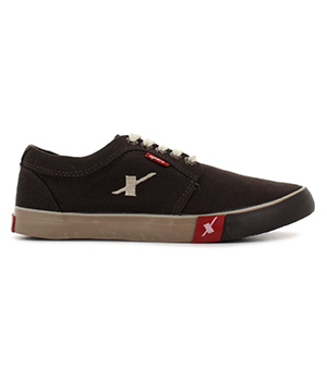 Sparx Dark Brown Mens Casual Shoe SM-175