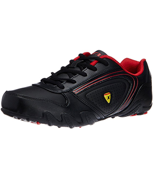 Sparx Black Red Mens Casual Shoe SM-182