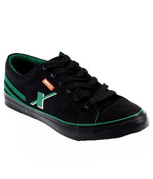 Sparx Black Green Mens Casual Shoe SM-189