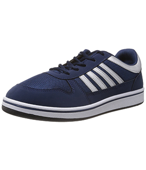 Sparx Blue Silver Mens Casual Shoe SM-183