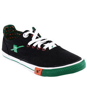 Sparx Black Green Mens Casual Shoe SM-192