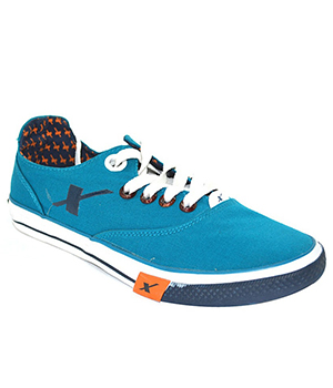Sparx Sea Green Navy Blue Mens Casual Shoe SM-192