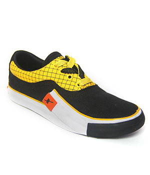 Sparx Black Yellow Mens Casual Shoe SM-198