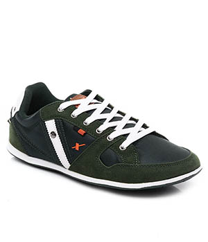 Sparx Green Mens Casual Shoe SM-209