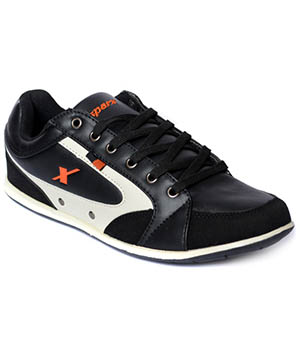 Sparx Black Mens Casual Shoe SM-210
