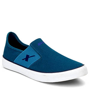 Sparx Sea Green Royal Blue orange Mens Casual Shoe SM-215