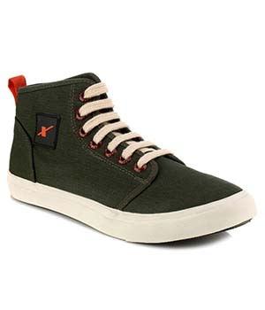 Sparx Dark Green Mens Casual Shoe SM-233