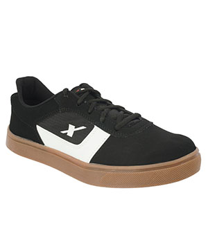 Sparx Black White Mens Casual Shoe SM-238