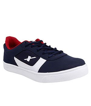 Sparx Blue White Mens Casual Shoe SM-238