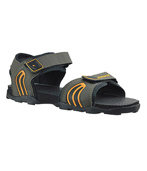 Sparx Mens Sandal SS-702 Green Yellow