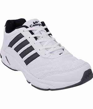 Campus 3G-378 Mens Sport Shoe White Grey