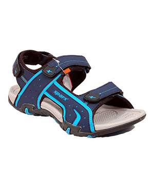 Sparx Mens Sandal SS-438 Navy Blue Royal Blue