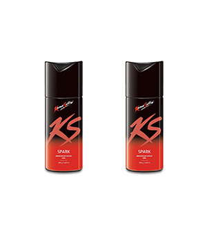 Kama Sutra Spark Mens Deodorant Body Spray Set Of 2