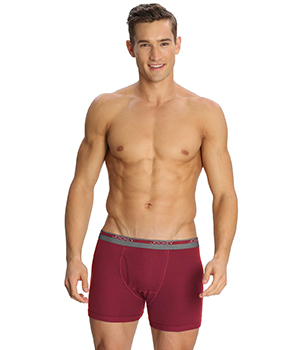 Jockey Modern Redwine Classic Boxer Brief 8009 Set Of 2