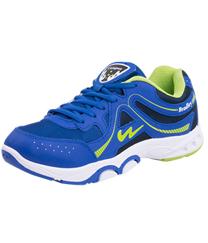 Campus SR-202 Bradley Royal Blue Green Mens Sport Shoe