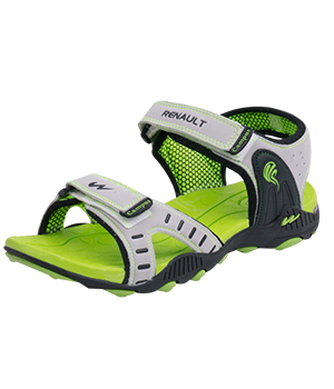 Campus-Renaul Light Grey P Green Mens Sport Sandal