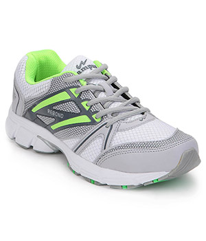 Campus 3G-407 Libra Light Grey Dark Grey Green Mens Sport Shoe
